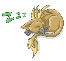 Sleeping Snigglething by Eltharion