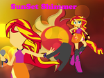 Sunset Shimmer Wallpaper by SiopaoNinja