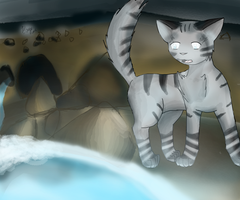 Jaypaw at the MoonPool by Darkkeh
