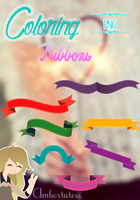 Coloring Ribbons by Waatt