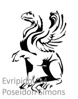 stylised griffin by poseidonsimons