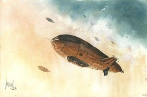 Air Ships by mwolski