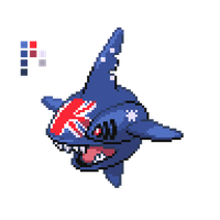 Australian Sharpedo by HoonFakedex