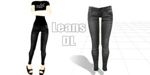 MMD jeans dl by MikuHaganez