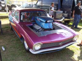 Ford Maverick Drag Car by Mister-Lou