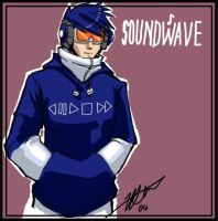 Human Soundwave - mojo-less by kiwifluff