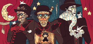 Steam Powered Giraffe by Owrly
