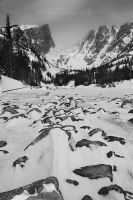 Dream Lake in Winter by Nate-Zeman