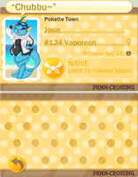 PKMN Crossing: Josie by Zao-Zao