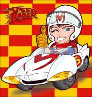 Speed Racer Chibi style by JustPlainJoe