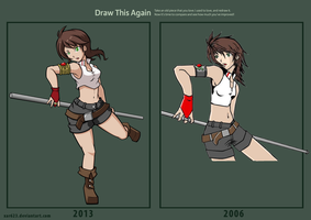 Draw Again - Diane Barehart by XaR623