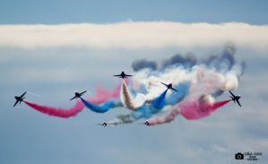 Red Arrows 02 by Side666