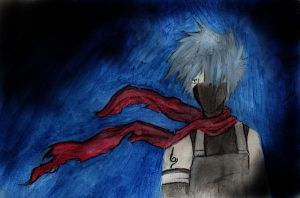 anbu kakashi by girlngreen7