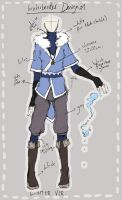 :: waterbender outfit design by pandatama
