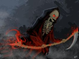 The Grim Reaper by XinoMetal
