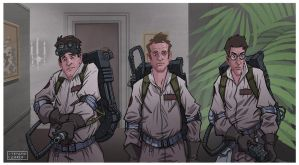 Ghostbusters by SteCarreri