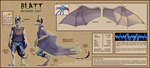 Blatt Reference Sheet - [French] by RubyFeather