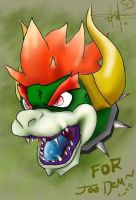 Giga Bowser for Demmie by ereptor
