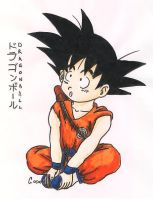 Little Goku by ChazieBaka