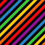 Ribbed Rainbow Tile by ts2master