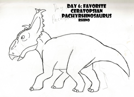30 Day Dinosaur Drawing Challenge: Day 6 by PandaFilms