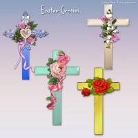 Preview 4 Easter Crosses by Creativescrapmom