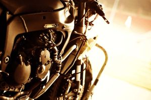 ZX6R 2009 engine by ocimblackbluered