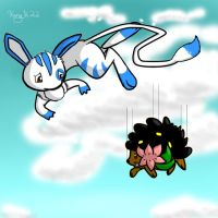 oh yeah land shaymins cant fly by Kingk22art