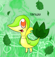 Snivy AKA Smugleaf by chibitracy