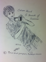 Calum Hood (5 Seconds of Summer) by tea-and-jumpers