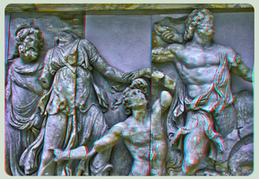 Pergamon Museum Berlin II ::: HDR Anaglyph 3D by zour