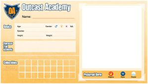 Outcast Academy Application Blank by LostSanityDCS