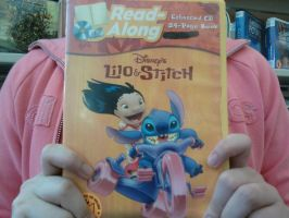 Rare Lilo and Stitch Read along audio CD from 2002 by firelightyear