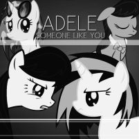(Octavia/Vinyl Scratch) Someone Like You - Adele by ShiningDiamonds