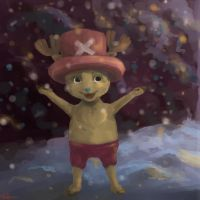 """Hey, snowflakes""- Chopper by GlykoNat"