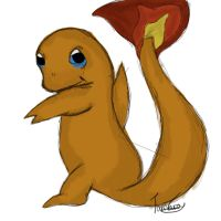 Charmander. by PurpleWillowTrees