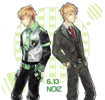 Noiz bday by IDK-kun