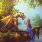 The girl and the Dragon by Lotta-Lotos