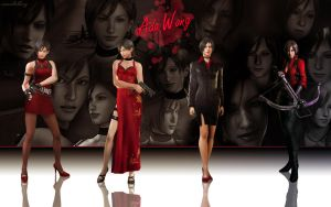 Ada Wong Wallpaper 2 by Yokoylebirisi