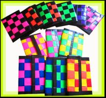 13 Duct tape Wallets by chat-noir