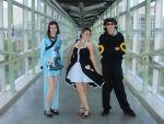 Umbreon and friends cosplay by Max-Sutari