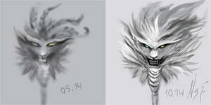 Rengar ._. by NightShallFall