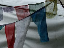 Prayer Flags by RosaryOfSighsx