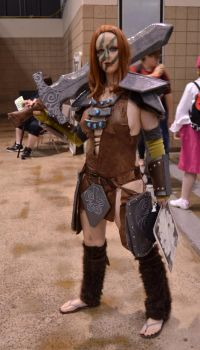 Aela the Huntress by pirateteaparty
