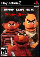 Grand Theft Auto:Sesame Street by SadoY