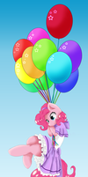 Pinkie Balloon by Mlle-Honey