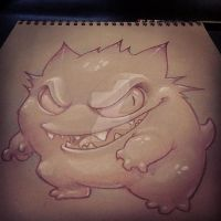Gengar by XeviousTheGreat