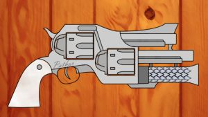 Pathor Revolver by Blaze-Drag