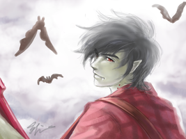 Marshall Lee by EYKIHAN