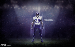 Adrian Peterson | Wallpaper by ClydeGraffix